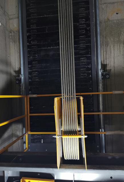 室内施工升降机的钢丝绳
