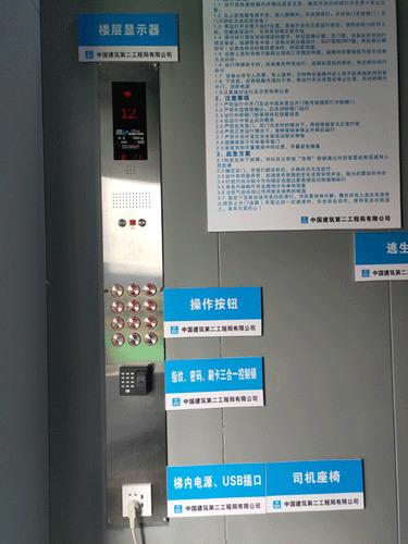 施工升降机内部细节图